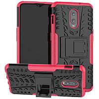 Чехол Armor Case для OnePlus 6T / 7 Rose