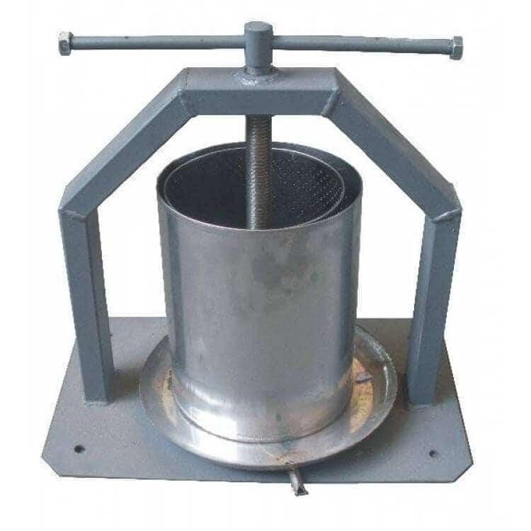 Пресс для сока ручной 15 литров Винница (винтовой + кожух)