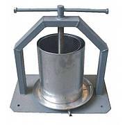 Пресс для сока ручной 10 литров Винница (винтовой + кожух)