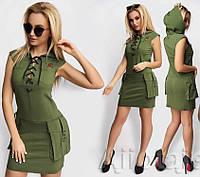 Платье / бенгалин / Украина 5-380
