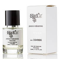 Paco Rabanne Black XS for Him EDP 30ml TESTER (парфюмированная вода Пако Рабан Блэк Икс Эс фо Хим тестер)