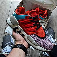Мужские кроссовки Adidas EQT Support 91/18 (Адидас Эквипмент), красные, код DN-0030