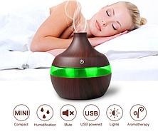 Освежитель воздуха Mini Usb Humidifier 7 led color change, фото 2