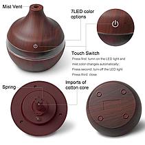 Освежитель воздуха Mini Usb Humidifier 7 led color change, фото 3