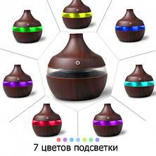 Освежитель воздуха Mini Usb Humidifier 7 led color change- Новинка, фото 3
