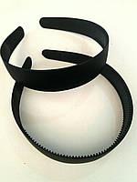 Обруч чёрный каучук