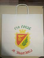 Печать на пакетах, бумажные пакеты с вашим лого