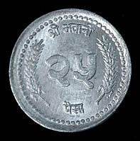 Монета Непала 25 рупий