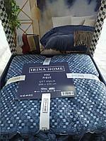 Простынь - покрывало размер пике,синий цвет, Irina Home, Турция