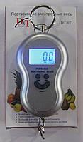 Портативные электронные весы DT-07 (серые)