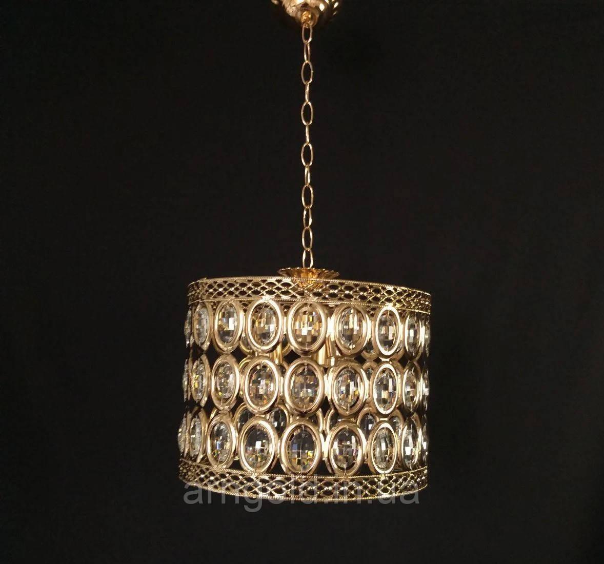 Люстра подвесная HJT-8306/300 FG в золотом цвете