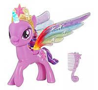 Май литл пони Искорка радужные крилья Rainbow Wings Twilight Sparkle