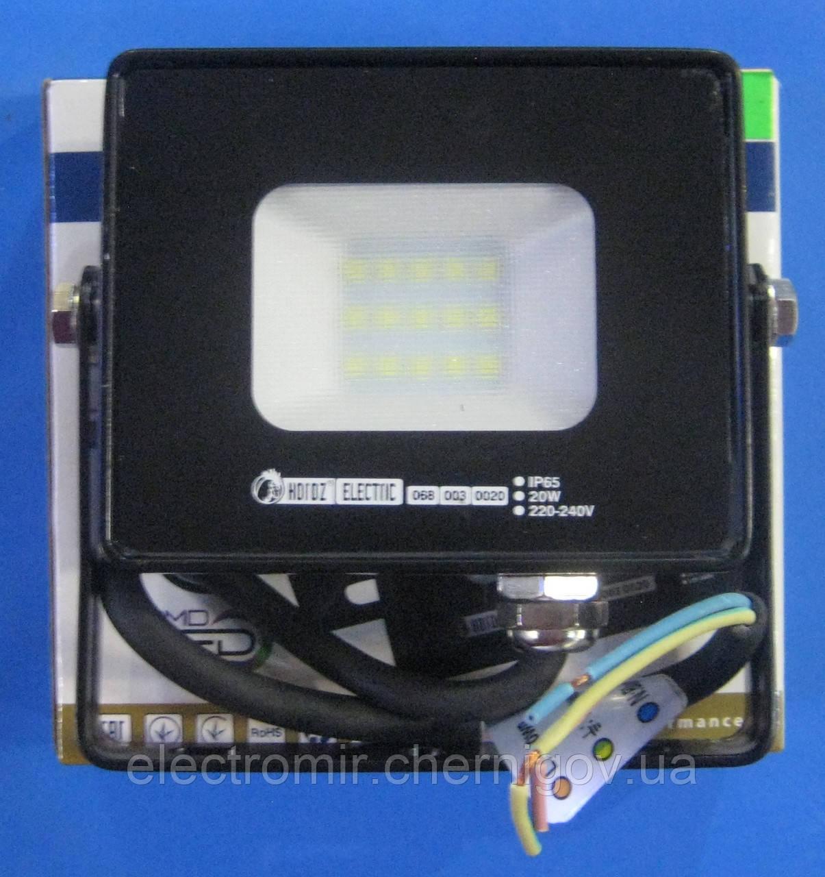 Прожектор светодиодный Horoz PUMA-20 (20 ВТ)