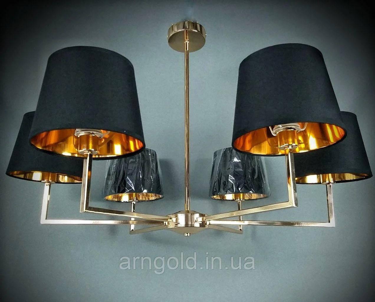 Люстра подвесная на 6 ламп 06-8926/6 FGD+WT TK