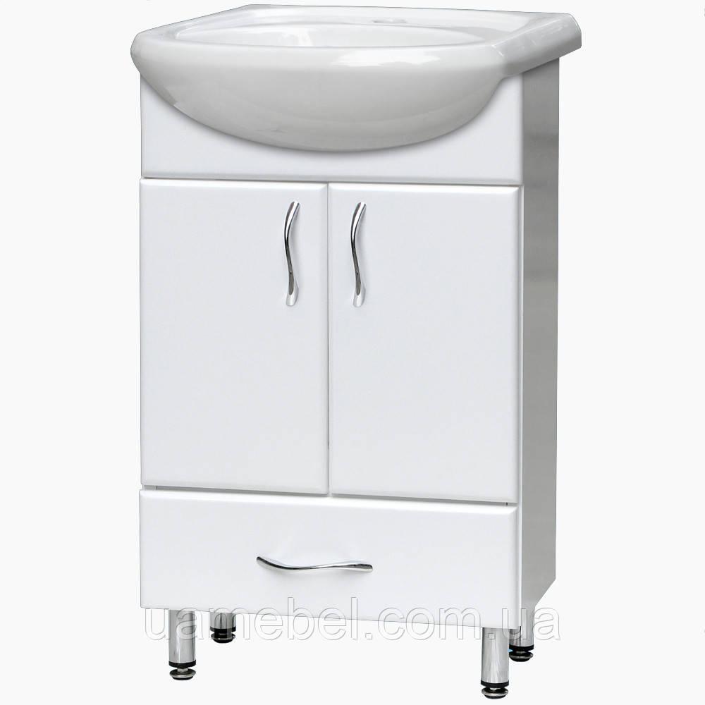 Тумба для ванной Т-19 (под умывальники от 50 до 75 см)