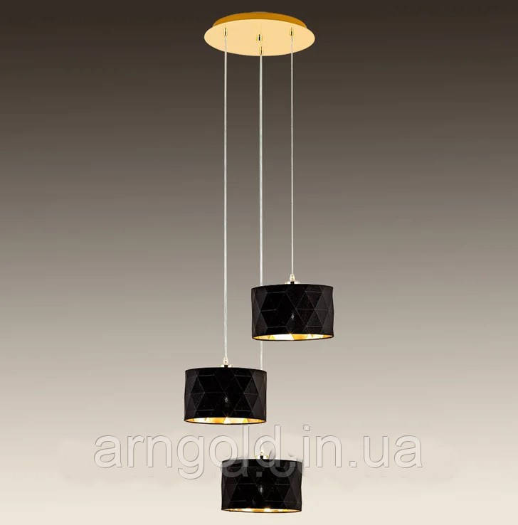 Люстра подвесная на 3 лампы 29-H319/3 FGD+BK TK