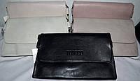 Женские прямоугольные клатчи-конверты Toscco с клапаном и на несколько отделений внутри 25*16 см