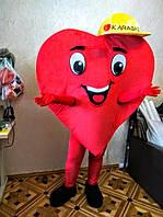 Промо-костюм Сердце. Изготовление ростовых кукол под заказ