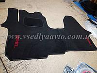 Ворсовые коврики в салон OPEL Vivaro (Черный)
