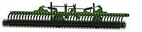 Борона мотыга ротационная «Аякс-9» PREMIUM-HYDRO гидравлика Аякс