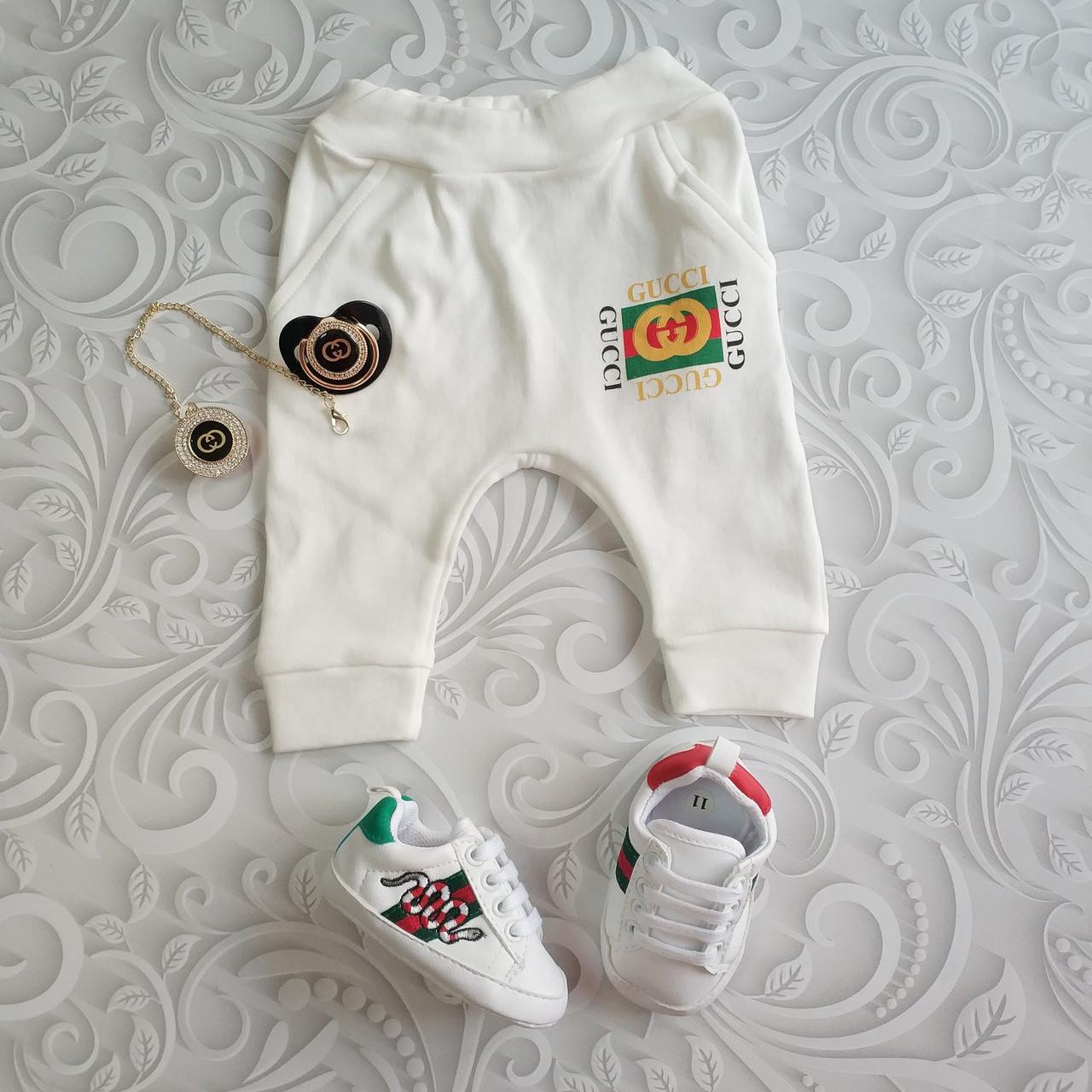 Ползунки, штанишки для новорожденных Gucci