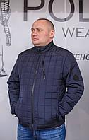 Мужская,демисезонная,стёганная куртка больших размеров.New Big-Series '2020'.