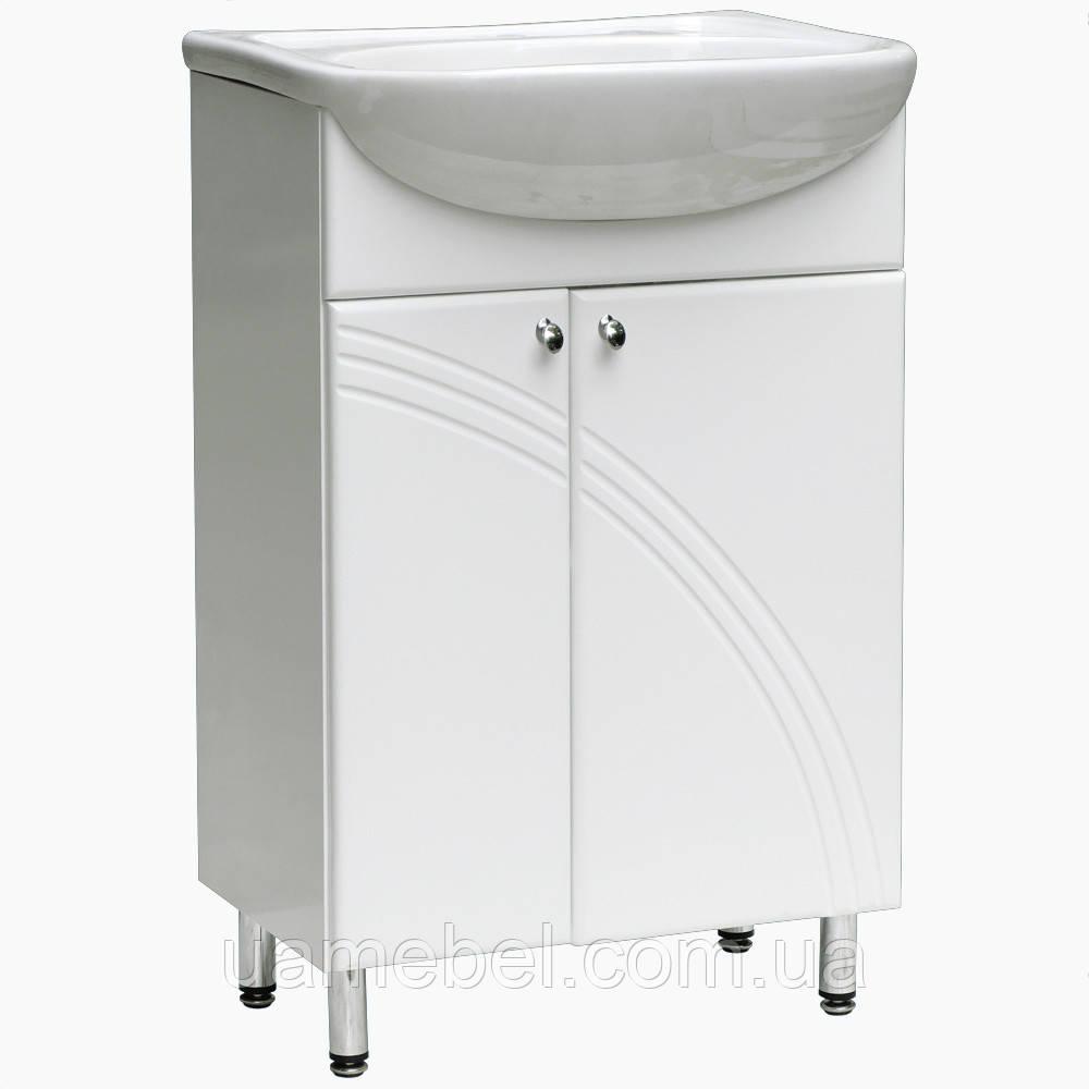 Тумба для ванной Т-25 (под умывальники от 45 до 90 см)