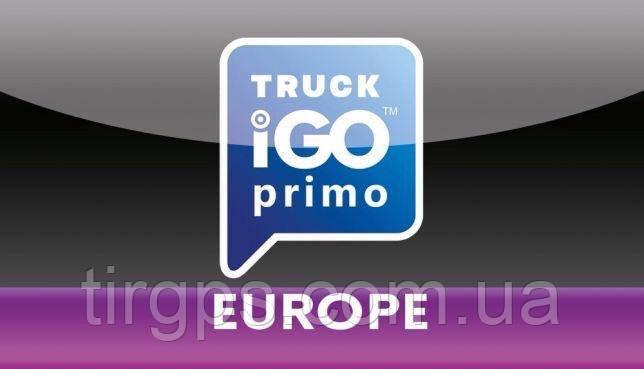 Navigacionnaya Karta Igo Primo Truck Evropa Polnaya Versiya 2019 Q04
