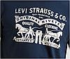 Мужская футболка Levis®  Classic Graphic Tee - Dress Blues Haritage Logo (M), фото 2