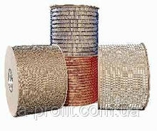 Металеві пружини в бобіні 6,3 мм серебр Р 80 000 кілець