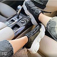 Черные женские кроссовки TeDDy