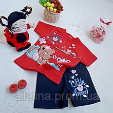 Костюм трикотажный для девочки (1-4 года)