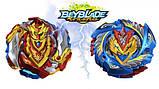 Набор Бейблейд Beyblade 2 в 1: Чо-Зет Волтраек В5 (Валькирия) В-127  + Чо-Зет Ахиллес А5 В-129  с пускателями, фото 5