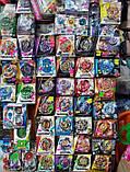 Набор Бейблейд Beyblade 2 в 1: Чо-Зет Волтраек В5 (Валькирия) В-127  + Чо-Зет Ахиллес А5 В-129  с пускателями, фото 9