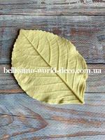 Молд лист Гортензии реалистичный, 11,5смх7,5см