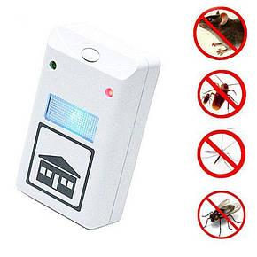 Электромагнитный отпугиватель грызунов Pest Repeller, отпугиватель крыс и насекомых, фото 2
