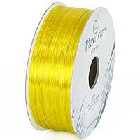 PETG пластик Plexiwire для 3D принтера желтый 1,75мм (300м / 0,9кг)