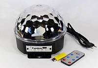 Светодиодный дискошар MP3 LED Magic Ball Light