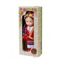 """Кукла """"Девочка в вышиванке"""" (красный) В220/2"""