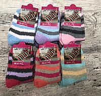 Теплые женские носки в полоску - 94/1, фото 1