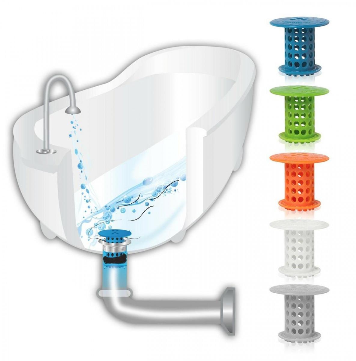 Пробка-затычка для ванны с фильтром от волос Tub Shroom
