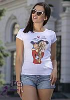 """Женская футболка с рисунком """"Baby Mous"""""""