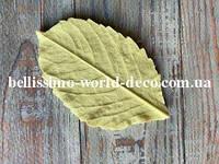 Молд лист Георгина, 8,5смх5см
