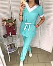 """Жіночий медичні костюм """"Поліна"""", фото 2"""