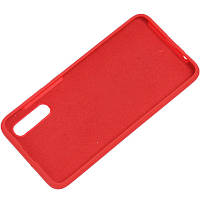 Чехол Silicone Cover Full Protective (AA) для Samsung Galaxy A70 (A705F) Красный / Red
