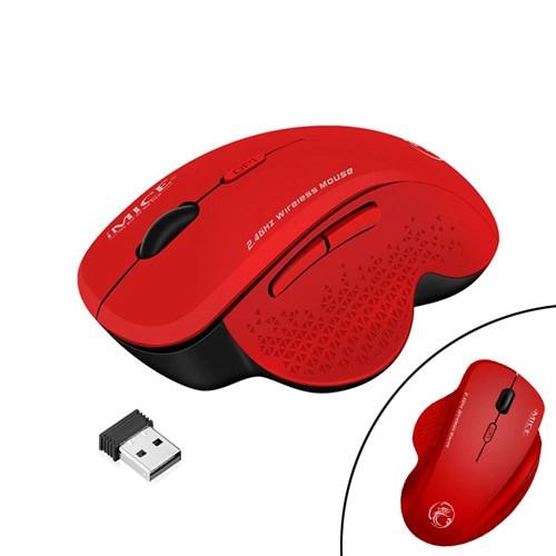 Беспроводная игровая мышь мышка 1600DPI эргономичная с выступами iMice G6 2003-05628