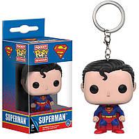Фигурка брелок Funko Pop ДС Супермен DC Superman 4 см DC S 010