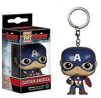 Фигурка Капитан Америка Марвел: Мстители Marvel: Avengers 2 Captain America Funko Pop 4 см CA 67