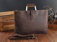 Мужская кожаная сумка. Модель DM-10, фото 6