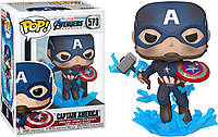 Фигурка Funko Pop  Капитан Америка  c молотом Мьёльнир Captain America Broken Shield and Mjolnir CA 573